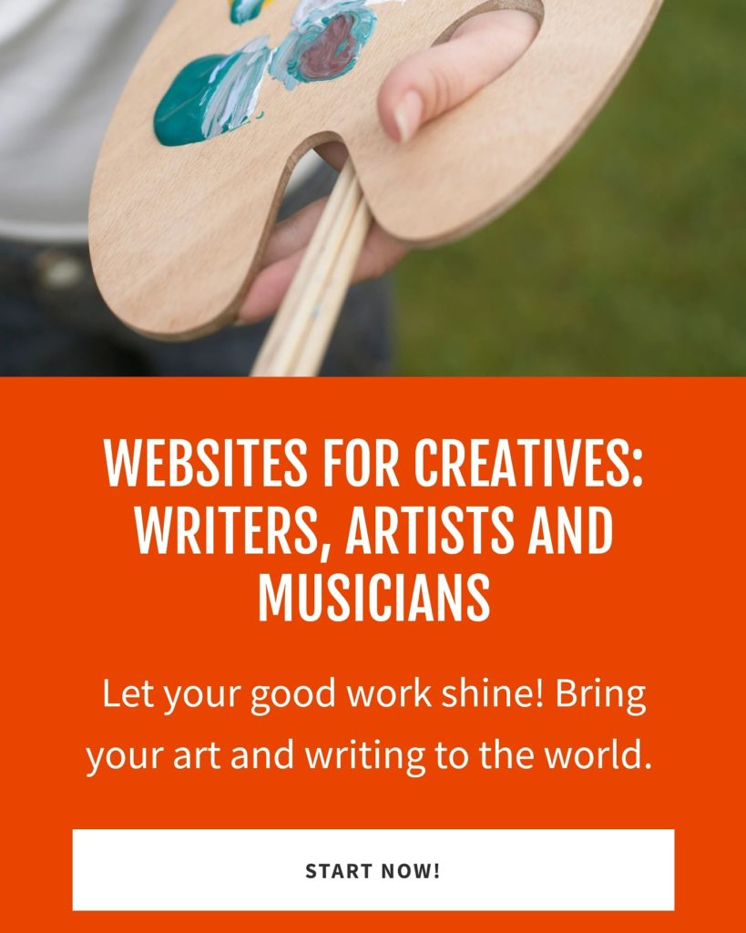 Websites for Creatives